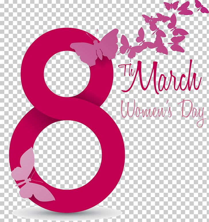 International Women's Day March 8 PNG, Clipart, Circle, Day, Day Without A Woman, Digital, Digital 8 Free PNG Download