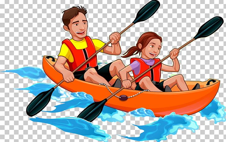Kayak Canoe Father Illustration PNG, Clipart, Double, Double Happiness, Game, Happy Birthday Vector Images, Paper  Free PNG Download