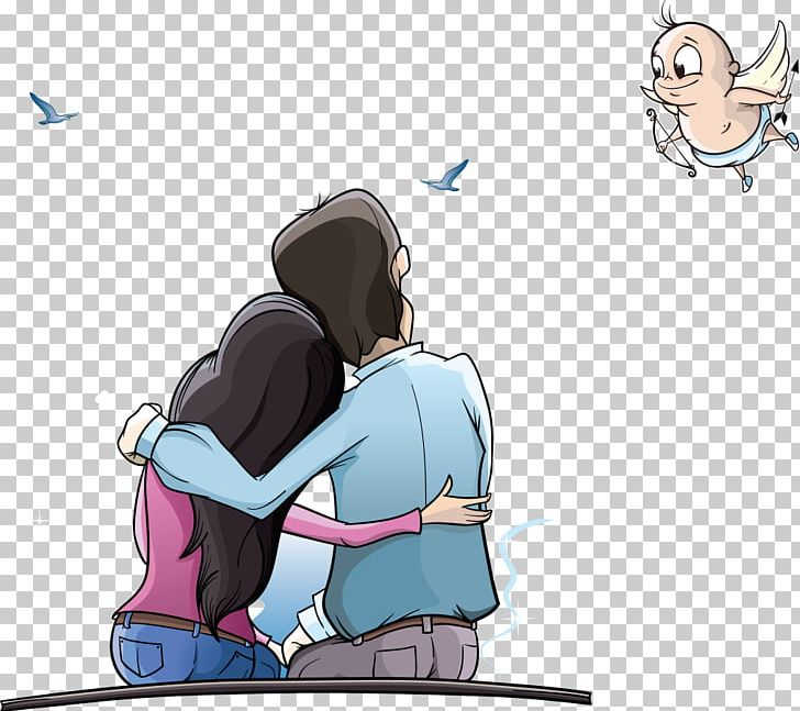 Cartoon Couple Animation Png Clipart Arm Child Couples Download Encapsulated Postscript Free Png Download