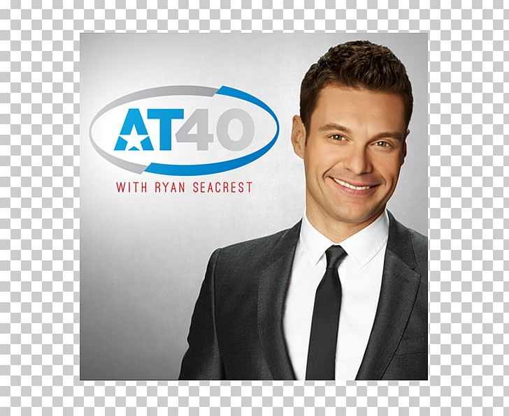 Ryan Seacrest American Top 40 IHeartRADIO PNG, Clipart