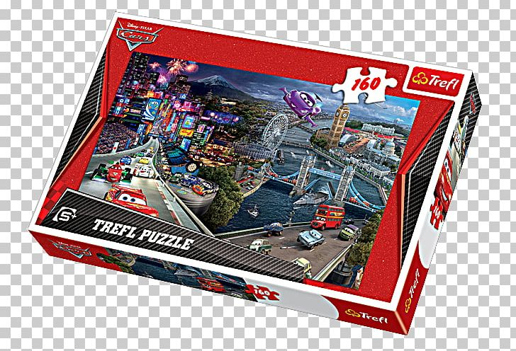 Jigsaw Puzzles Mater Lightning McQueen Cars 2 Trefl PNG