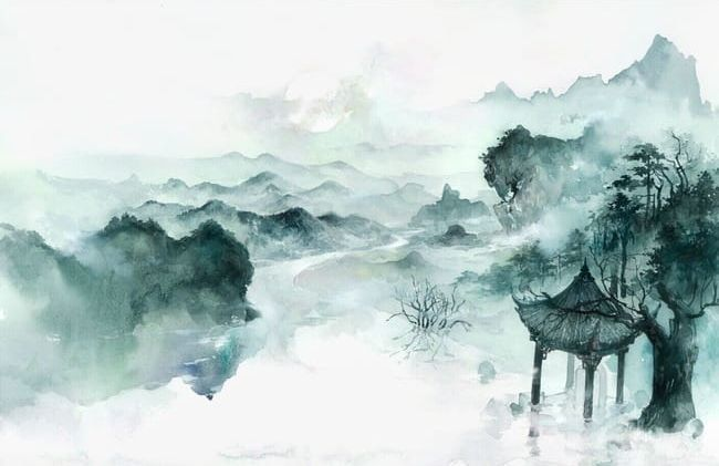 Antiquity Beautiful Watercolor Illustration PNG, Clipart, Author, Bird, Cartoon, China, Chinese Style Free PNG Download