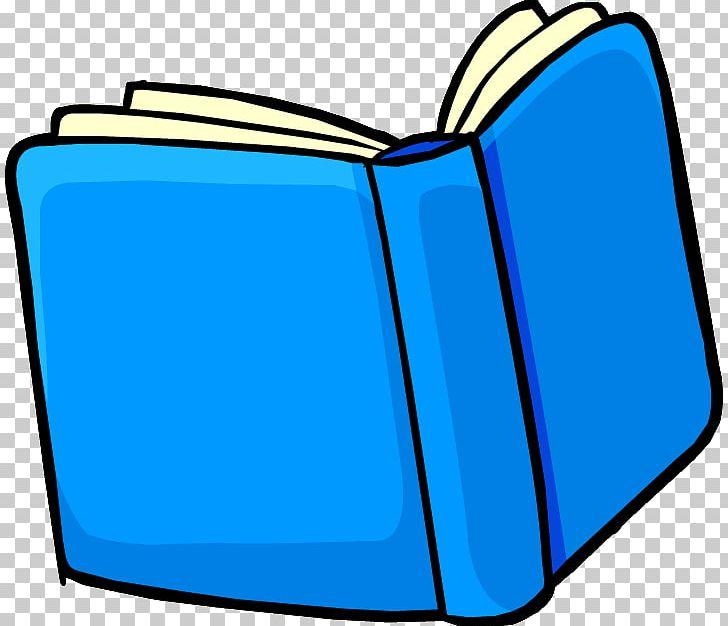 Book blue. Club penguin exam png