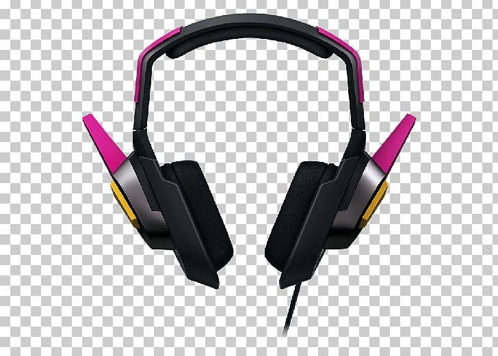 Overwatch D Va Razer MEKA Analog Gaming Headset Headphones Razer Inc