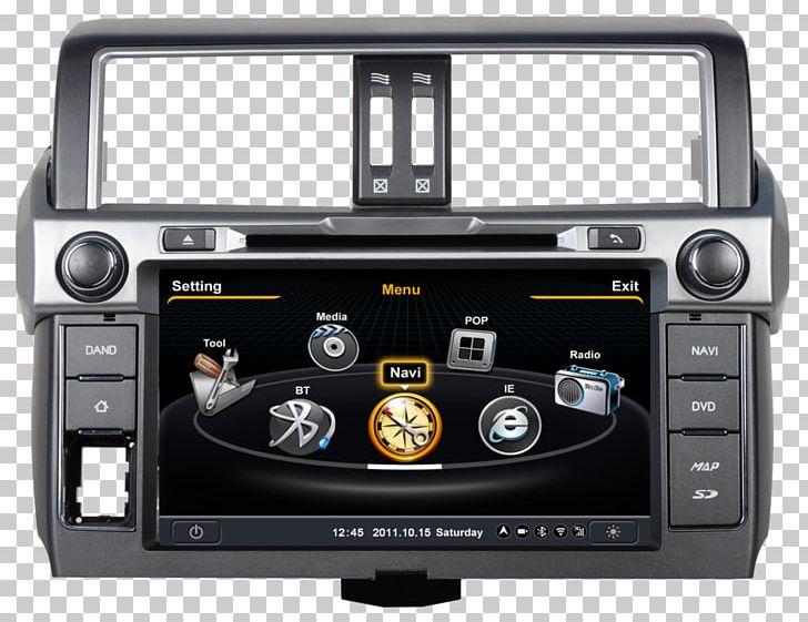 Toyota Land Cruiser Prado Car GPS Navigation Systems Toyota