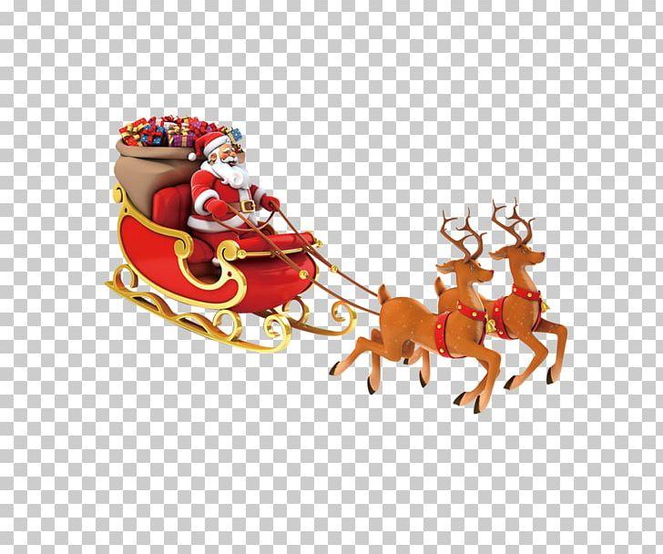 Santa Claus Reindeer Christmas Bag PNG, Clipart, Bag, Carts, Child, Christ, Christmas Free PNG Download