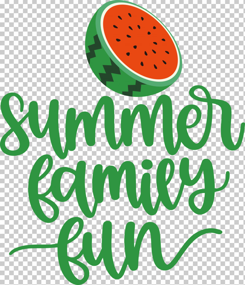 Summer Family Fun Summer PNG, Clipart, Biology, Fruit, Green, Leaf, Logo Free PNG Download