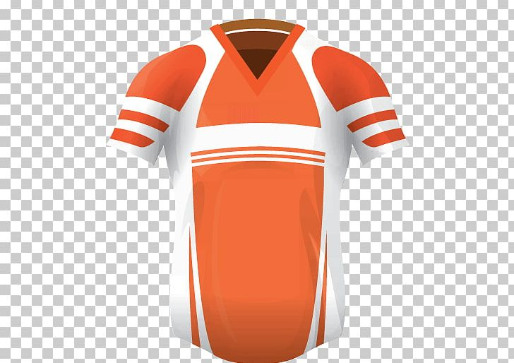 T-shirt Shoulder Sleeve Outerwear PNG, Clipart, Clothing, Jersey, Joint, Neck, Orange Free PNG Download