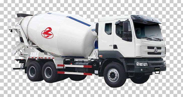 Car Ready-mix Concrete Semi-trailer Truck PNG, Clipart