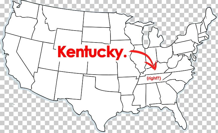 Outline Of The United States Blank Map Us State Png Clipart - Map-of-the-us-outline