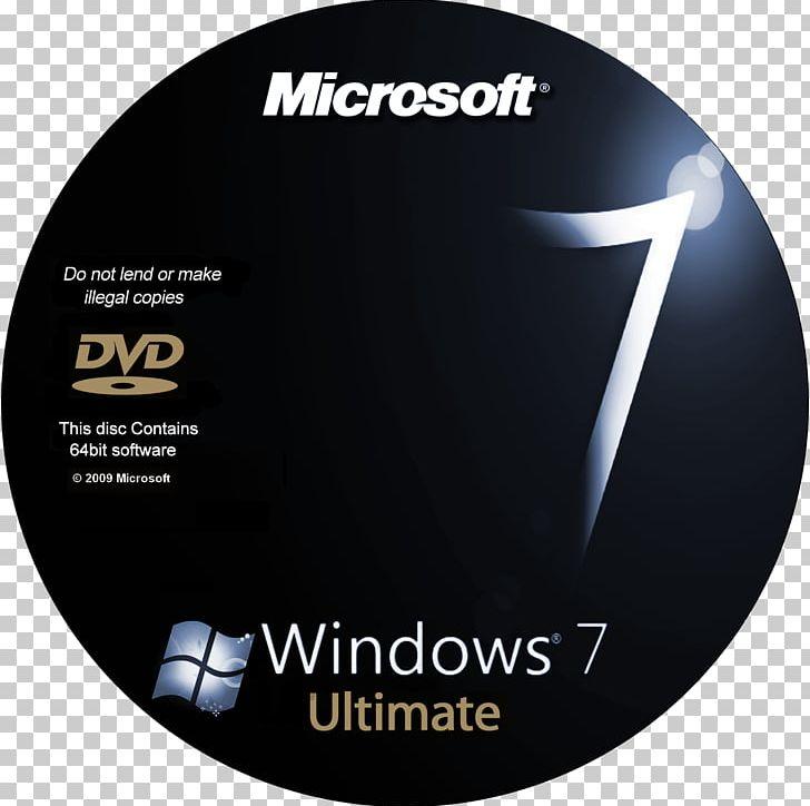Windows 7 ISO DVD 64-bit Computing PNG, Clipart, 32bit