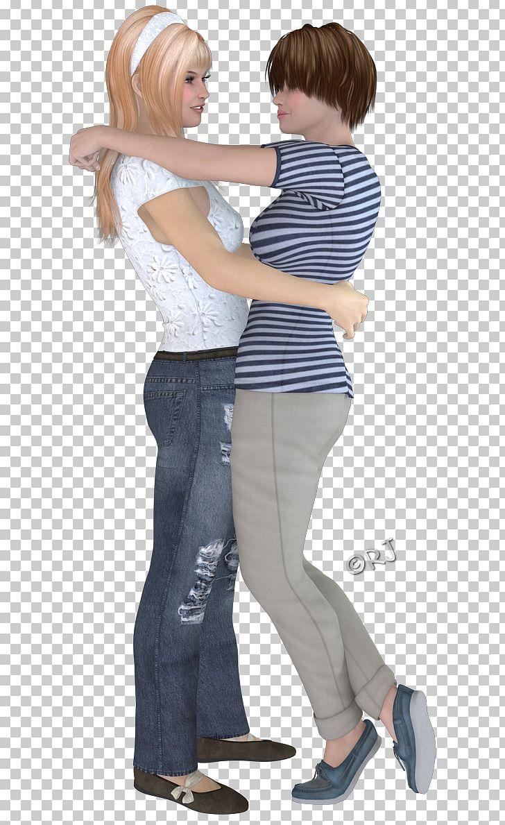 Jeans Hip Human Behavior Shoulder Sleeve PNG, Clipart, Abdomen, Arm, Behavior, Child, Clothing Free PNG Download