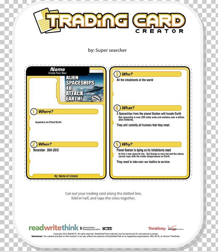 Template Microsoft Word Collectable Trading Cards Playing Card