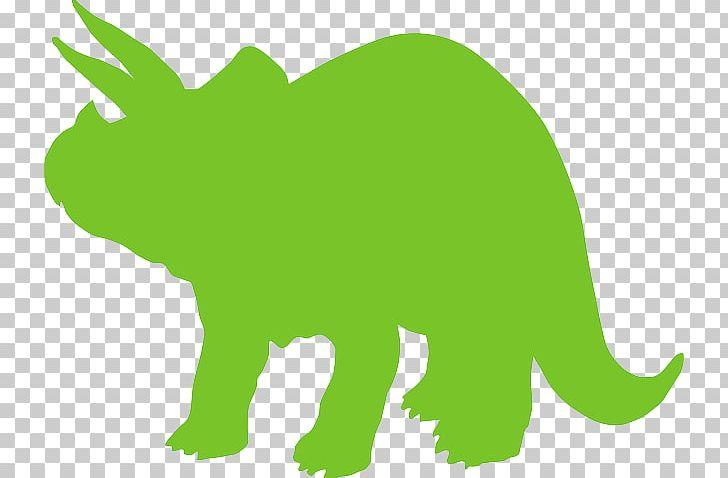 Triceratops Tyrannosaurus Silhouette Dinosaur PNG, Clipart, Animal Figure, Carnivoran, Dinosaur, Dog Like Mammal, Fauna Free PNG Download