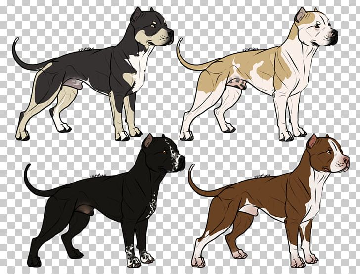 Dog Breed American Bully Drawing Png