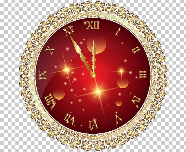 New Year Christmas Clock PNG, Clipart, Alarm Clocks, Christmas, Christmas Tree, Circle, Clock Free PNG Download