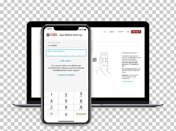 Smartphone Ubs Switzerland Feature Phone Online Banking Png