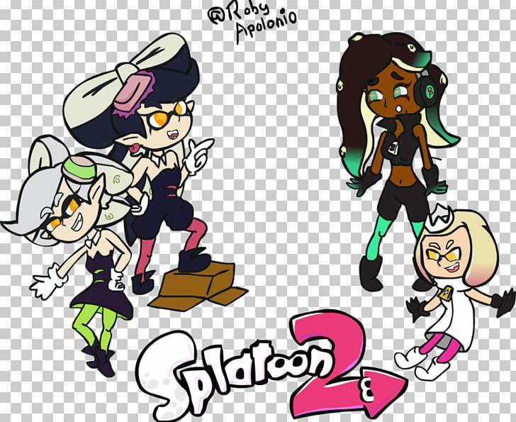 Splatoon 2 Squid Art Png Clipart Art Cartoon Comics Fan