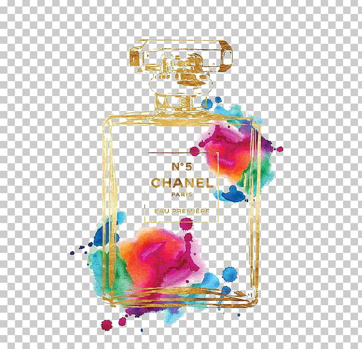 Chanel No. 5 Perfume Watercolor Painting Poster PNG, Clipart, Architectural Drawing, Art, Chanel, Chanel No 5, Coco Free PNG Download