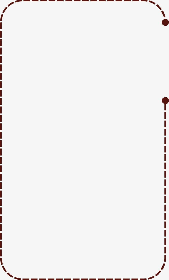 Dotted Line Text Box Png Clipart Borders Box Box Clipart