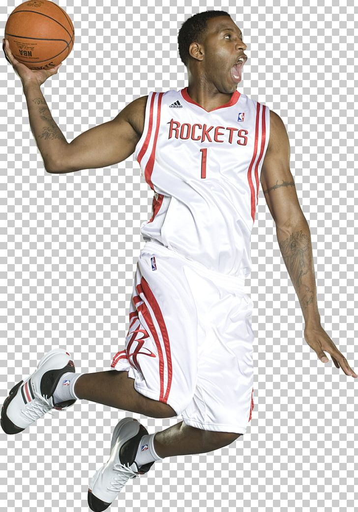 best service 12be9 d1c49 Tracy McGrady Houston Rockets Basketball Player Jersey PNG ...