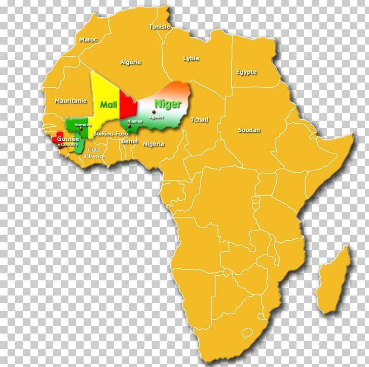 Niger River Guinea Nigeria Niamey Map PNG, Clipart, Africa, Area ...