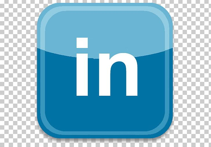LinkedIn Social Media Logo Computer Icons Professional Network Service PNG, Clipart, Aqua, Blue, Business, Compute, Desktop Wallpaper Free PNG Download