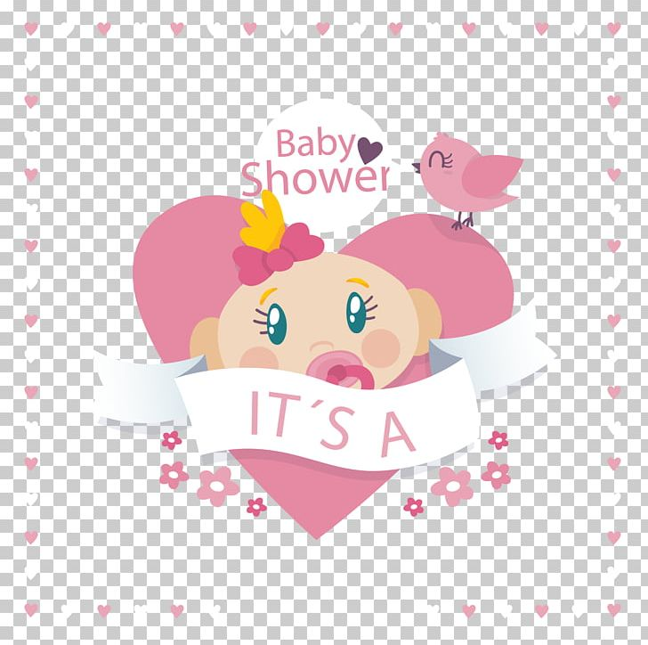 Baby Shower Infant Illustration PNG, Clipart, Baby, Bird, Birthday Card, Business Card, Child Free PNG Download