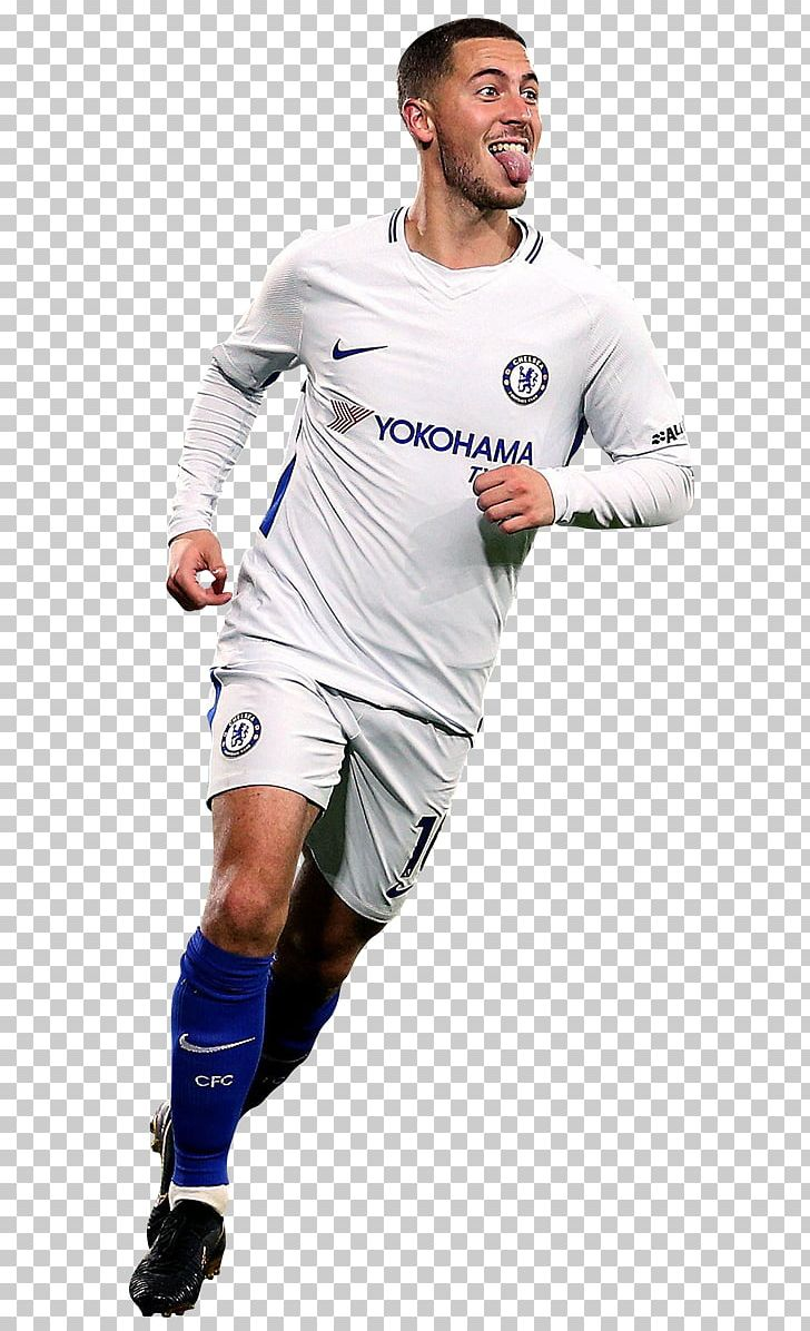 brand new 7bd2f ceaff Eden Hazard 2018 FIFA World Cup Chelsea F.C. Jersey Soccer ...
