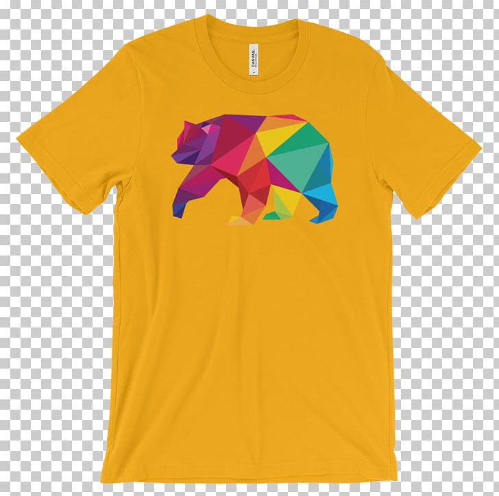 T-shirt Sleeve Clothing Hoodie PNG, Clipart, Active Shirt, Clothing, Formfitting Garment, Gold Polygon, Hoodie Free PNG Download