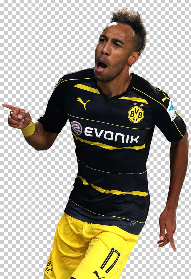 f00a38c28 Pierre-Emerick Aubameyang Borussia Dortmund Bundesliga Jersey Sport ...