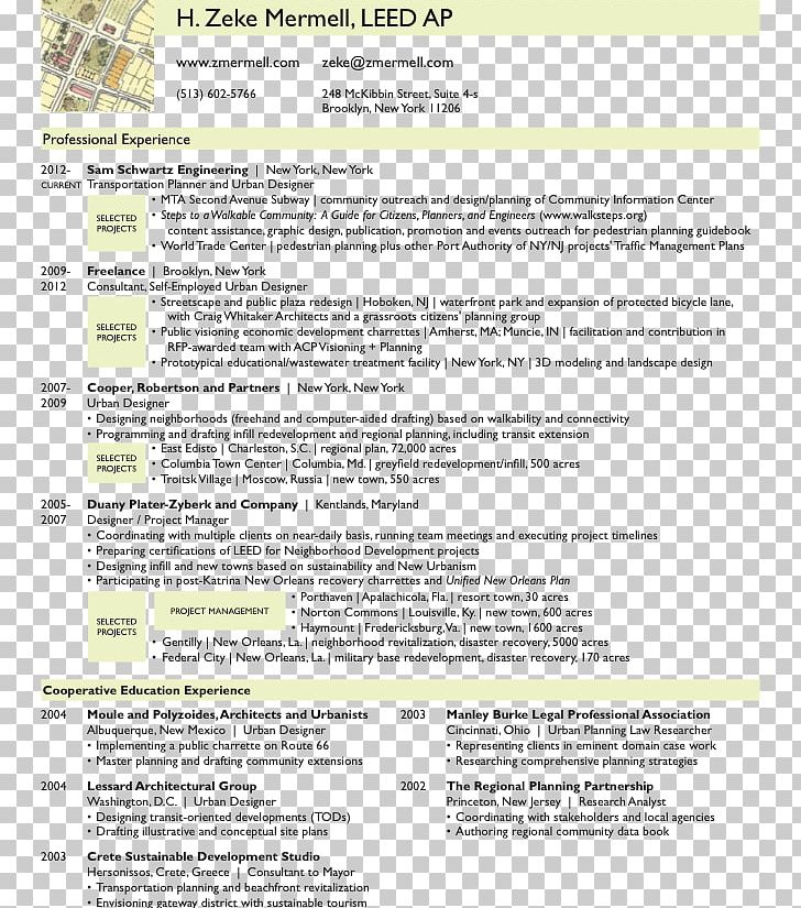 Résumé Cover Letter Curriculum Vitae Urban Planning Template ...