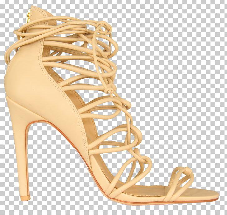 132702b8fcb High-heeled Shoe Sandal FOSCHINI PNG, Clipart, Basic Pump, Beige ...