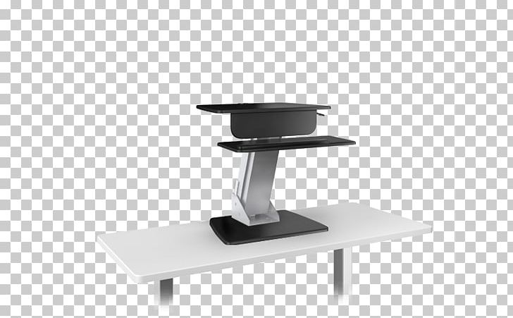 Standing Desk Sit-stand Desk Table Human Factors And Ergonomics PNG, Clipart, Angle, Computer, Desk, Furniture, Hon Company Free PNG Download