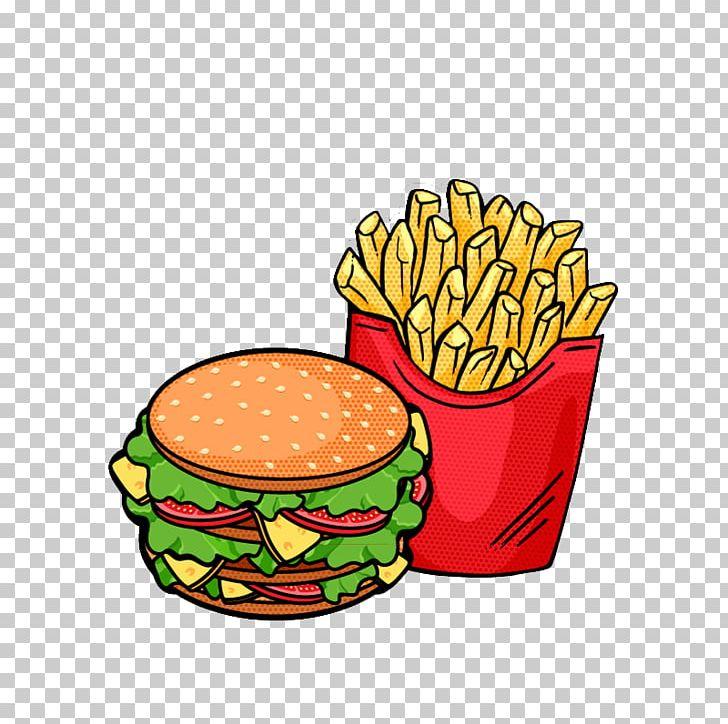 Hamburger Fast Food French Fries PNG, Clipart, Basket, Burger And Fries, Burger King, Cartoon, Clip Art Free PNG Download