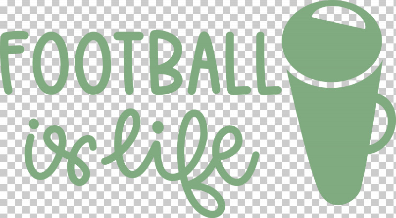 Football Is Life Football PNG, Clipart, Football, Green, Logo, Meter Free PNG Download