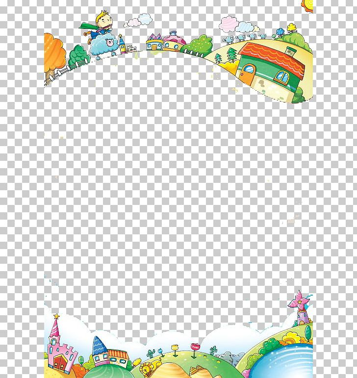 Cartoon Adobe Illustrator Illustration PNG, Clipart, Animals, Baby Toys, Balloon , Bed Sheet, Border Frame Free PNG Download