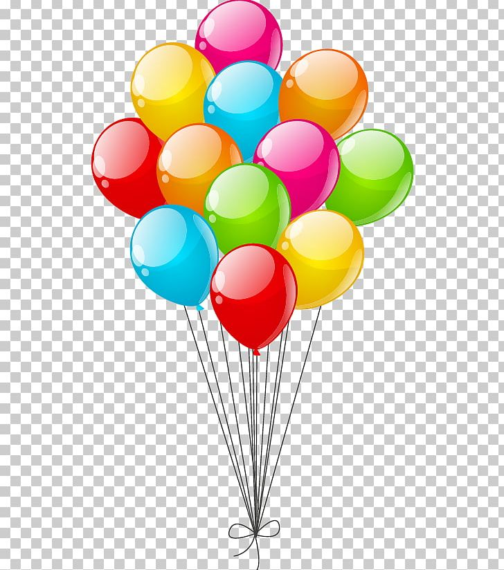 Balloon vector. Color party png clipart