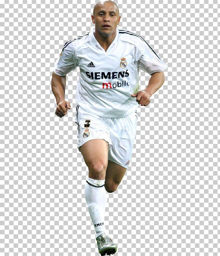 the best attitude e3d38 f99e4 Roberto Carlos Real Madrid C.F. Football Player Rendering ...