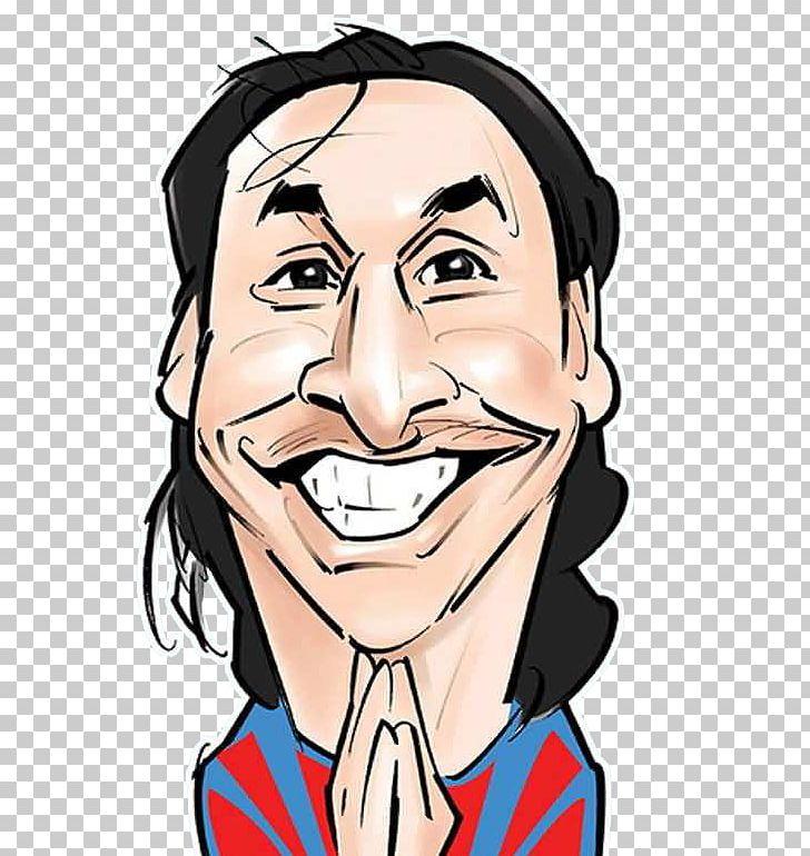 Zlatan Ibrahimovic Manchester United F C Caricature Drawing Football Player Png Clipart Caricature Cartoon Cheek Chin Dra