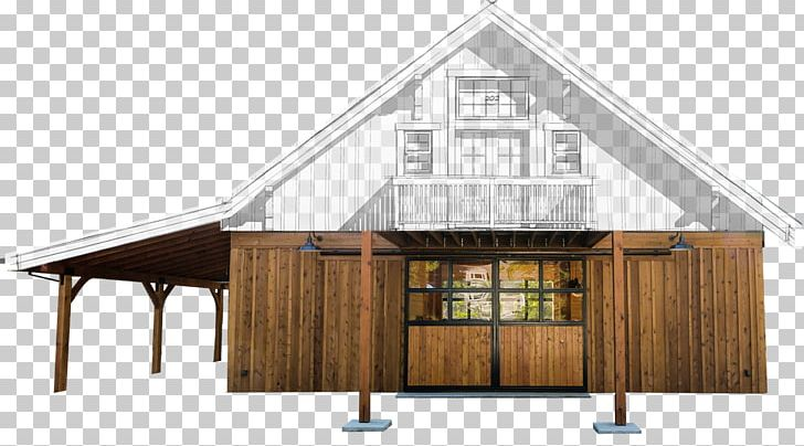 Barn House Plan Pole Building Framing Apartment PNG, Clipart ...