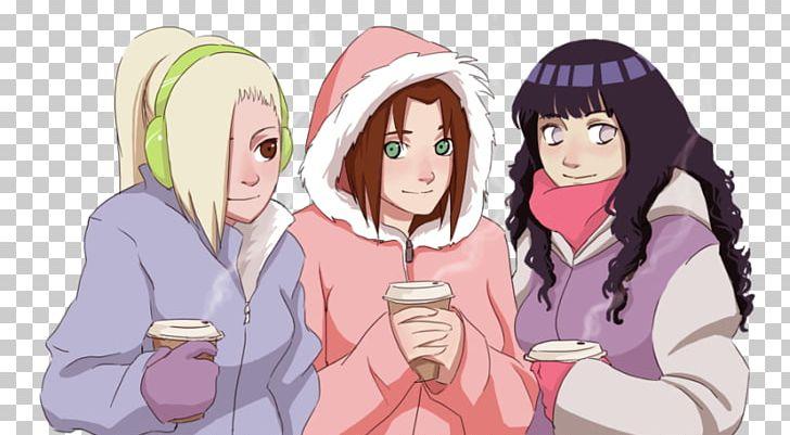 Sakura Haruno Hinata Hyuga Sasuke Uchiha Ino Yamanaka Naruto