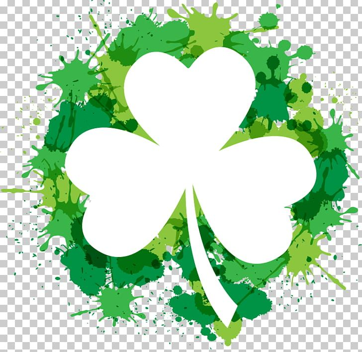 Shamrock Saint Patricks Day Free Content PNG, Clipart, Branch, Clover, Drawing Vector, Floral Design, Flower Free PNG Download