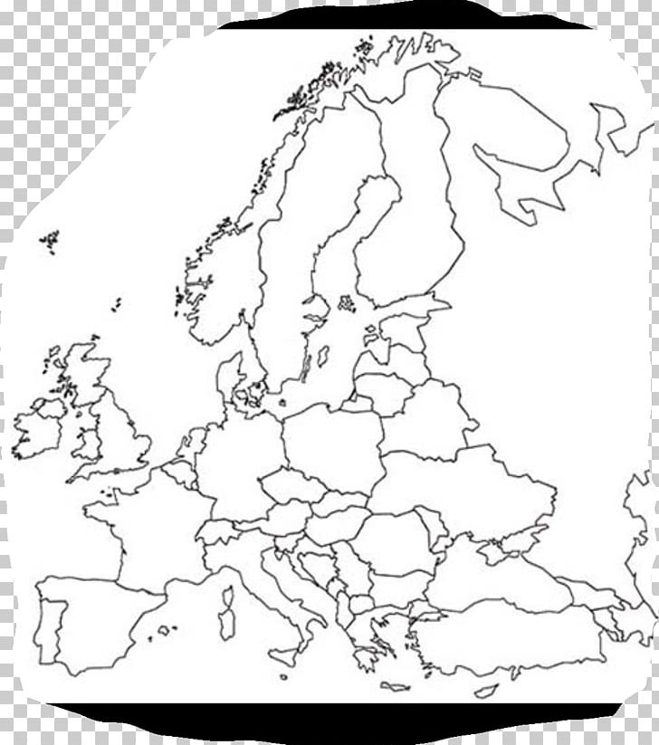 Europe Blank Map World Map Second World War PNG, Clipart ...