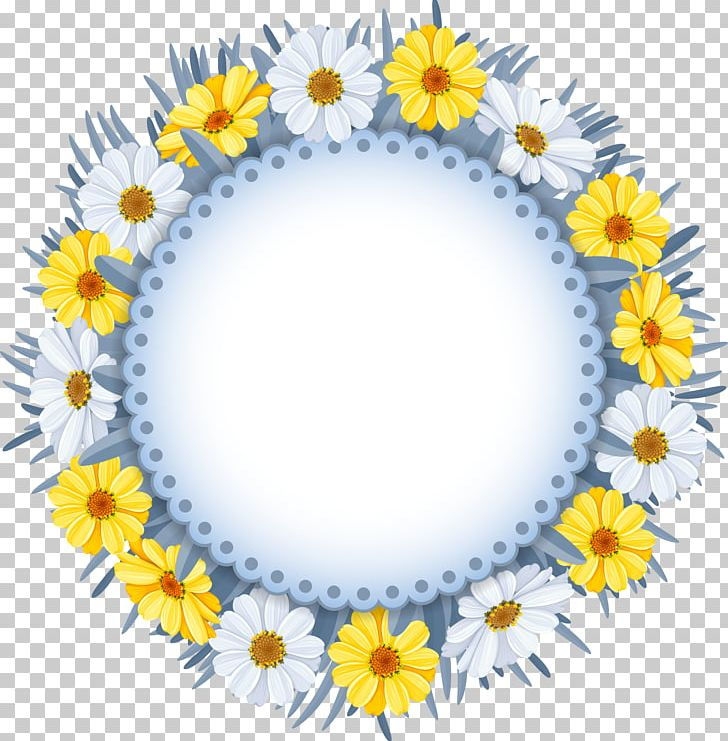 Flower Wreath Png Clipart Beautiful Garland Chamomile