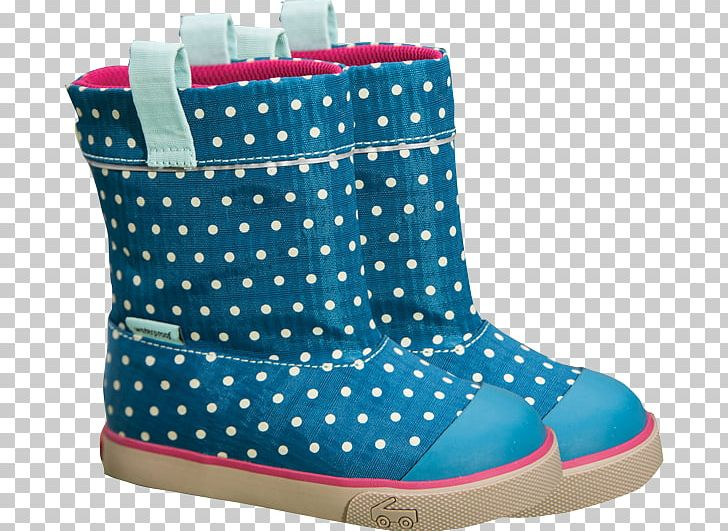 Polka Dot Snow Boot Shoe Walking PNG, Clipart, Accessories, Aqua, Blue, Boot, Electric Blue Free PNG Download