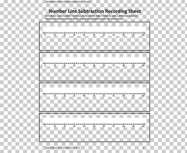 Number Line Subtraction Numerical Digit PNG, Clipart