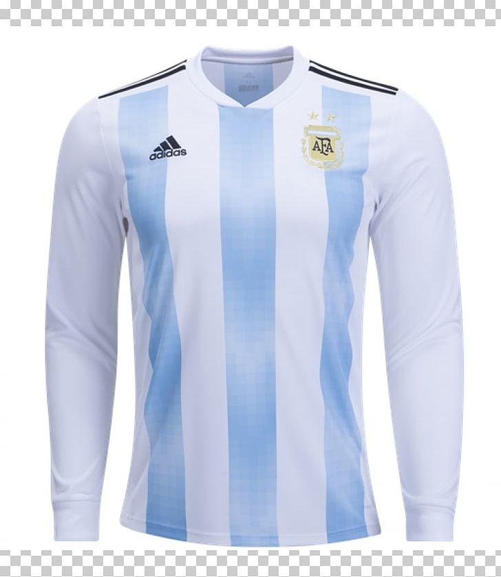 timeless design 50183 54eb5 2018 FIFA World Cup Argentina National Football Team T-shirt ...