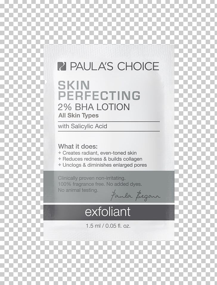 Paula's Choice Skin Perfecting 2% BHA Lotion Exfoliant Paula's Choice SKIN PERFECTING 2% BHA Liquid Beta Hydroxy Acid Skin Care PNG, Clipart,  Free PNG Download