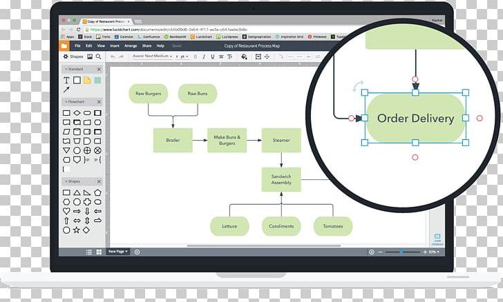 Lucidchart Computer Diagram Microsoft Visio System ... on